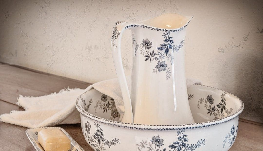 Un meuble double vasque en teck